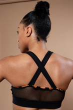 Load image into Gallery viewer, Bungee Mesh Sports Bra