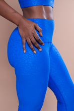Load image into Gallery viewer, Blue Lightning Leggings