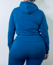 Load image into Gallery viewer, Embossed Luxe Jogger Hoodie (up to 2X)