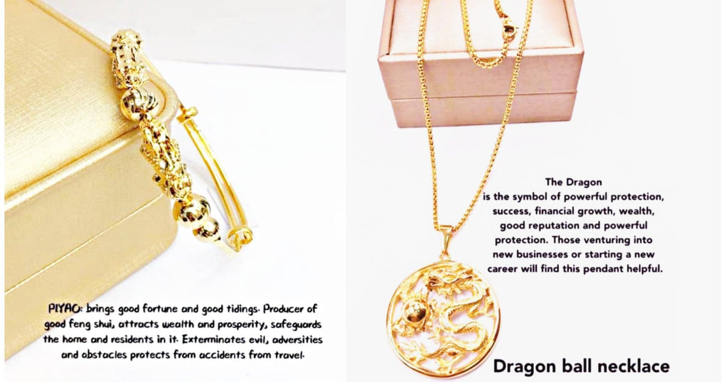 💥Powerful combination of dragon necklace and money magnet