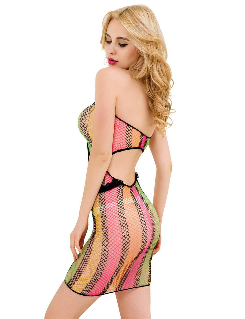 Super Sexy Hollow Out Stylish Women Fishnet Bodysuit