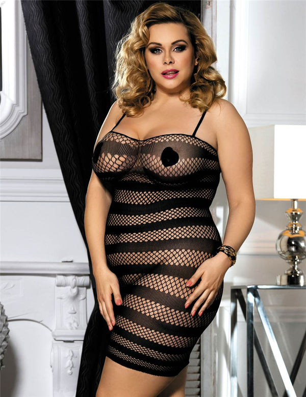 Superb High Elasticity Hollow Out Sexy Bodystocking
