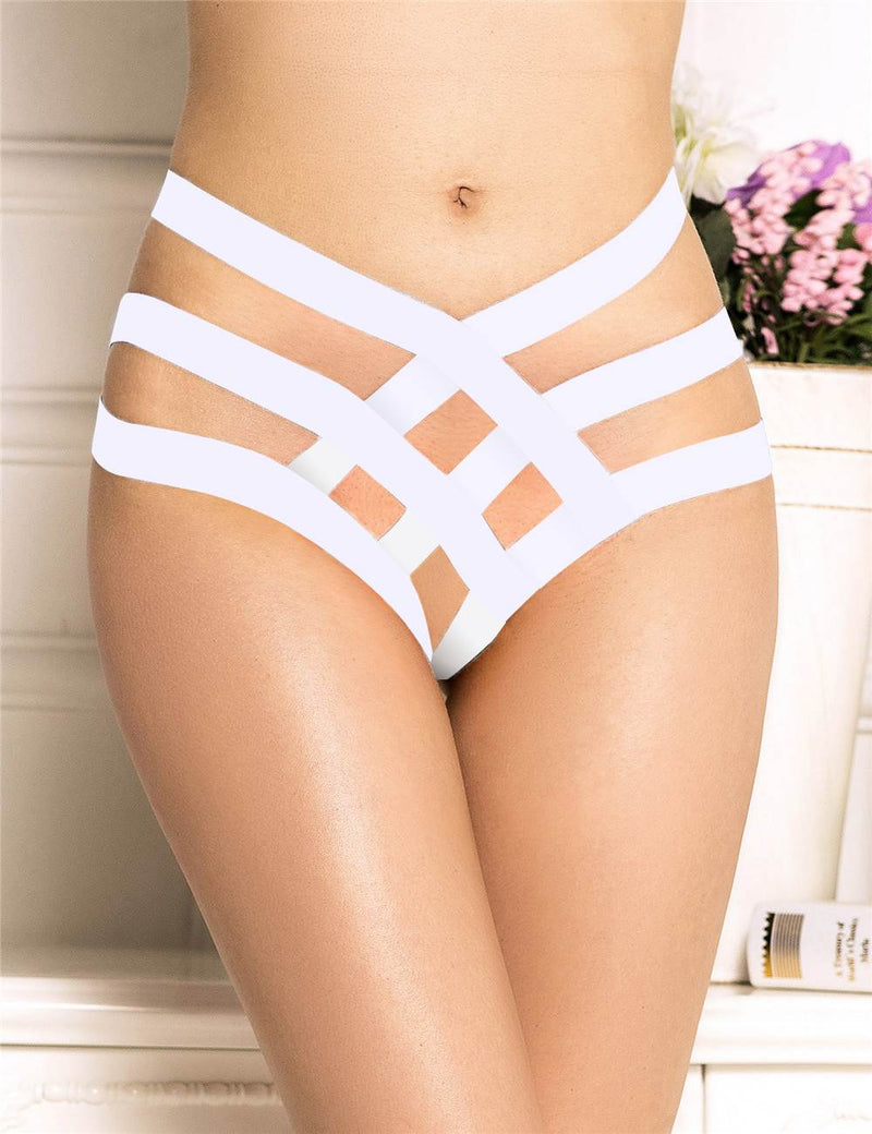 Nice Design Exquisite Red Bandage Women Sexy Thong Underwear