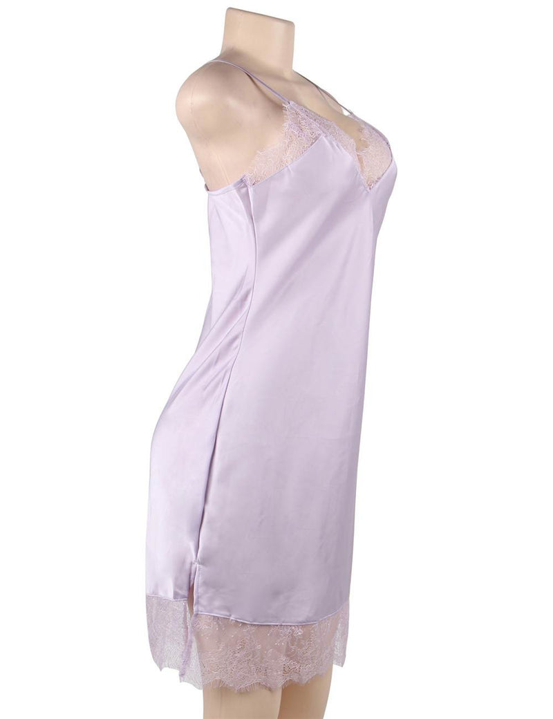 Sexy Silky Satin Lingerie High Quality Fashion Women Pajama