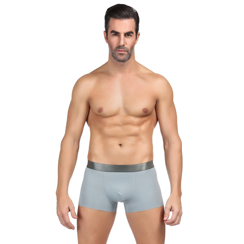 Extreme Comfortable Solid Black Modal Cotton Men Underwear