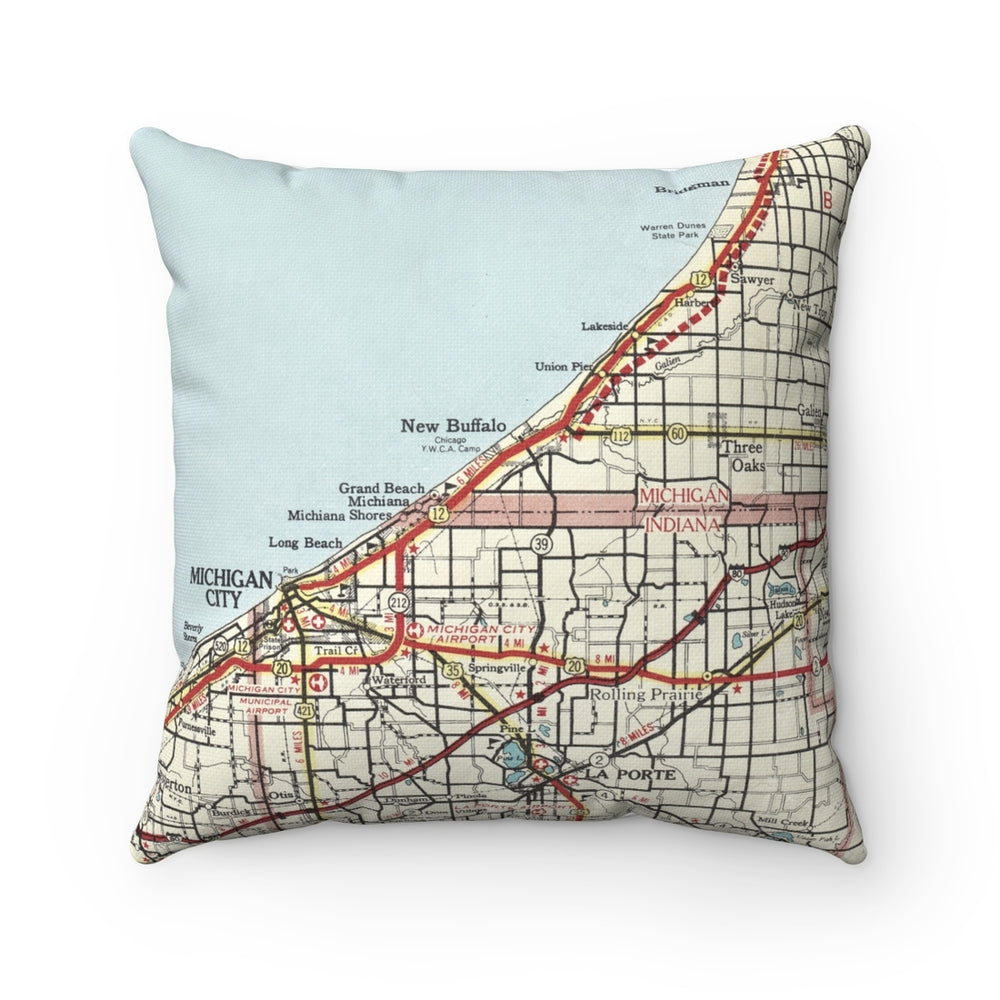 New Buffalo MI Pillow