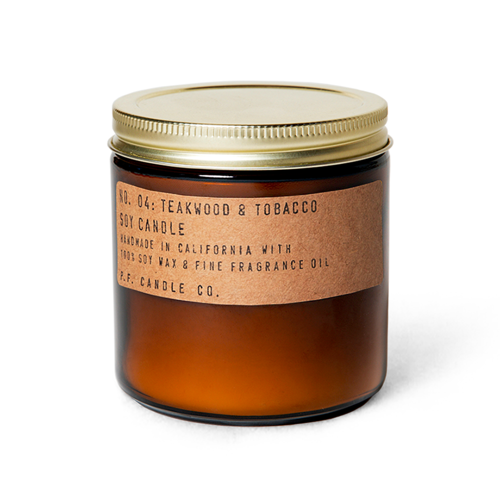 Teakwood & Tobacco Lrg Candle