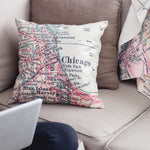 Chicago Loop Pillow