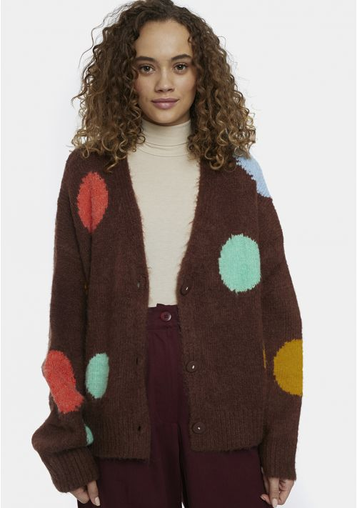 Colorful Dots Cardigan