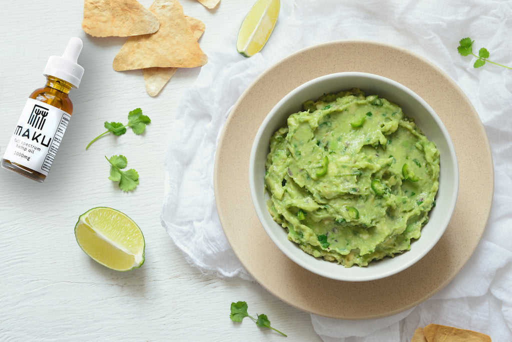 CBD-Infused Guacamole Recipe