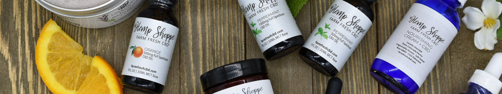 THE HERB SHOPPE | FARM FRESH CBD