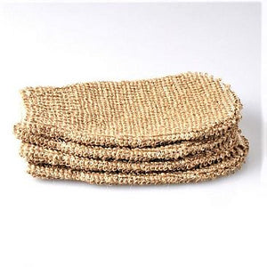 Exfoliating Hemp Fiber Mitt