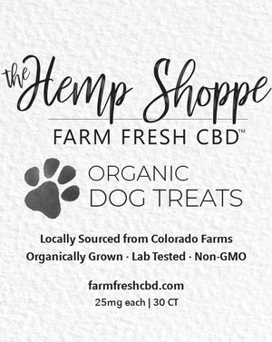 25MG CBD DOG TREATS (30 COUNT)