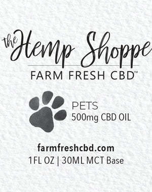 500MG SALMON CBD OIL (PETS)