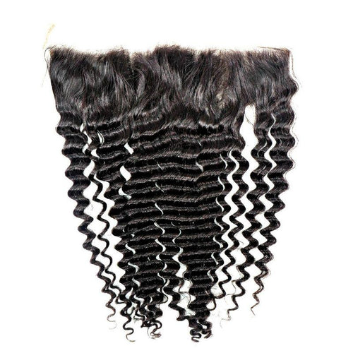 Brazilian Deep Wave Lace Frontal - reine-of-beauty