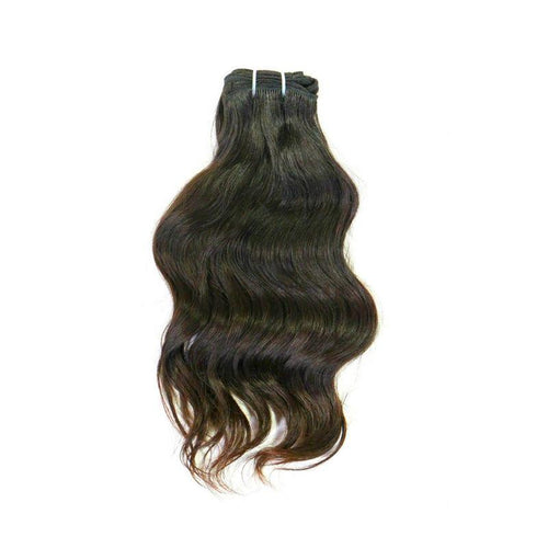 Indian Wavy Hair Extensions - reine-of-beauty