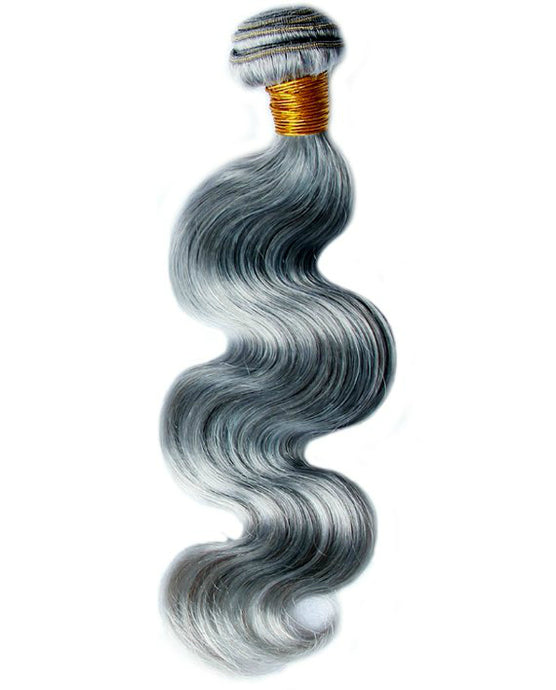 Brazilian Gray Body Wave Hair Extensions - reine-of-beauty