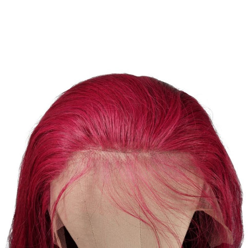 Burgundy Lace Front Wig - reine-of-beauty