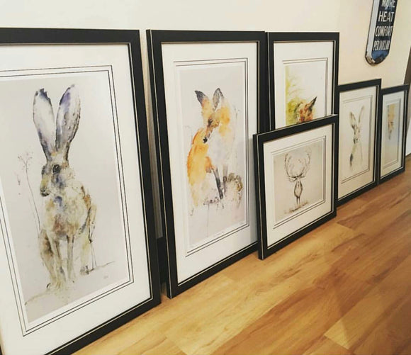 Various Framed Giclees