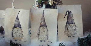 Set of 3 Nordic Gnomes. •Sold•