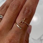 BE.YOU INITIAL RING