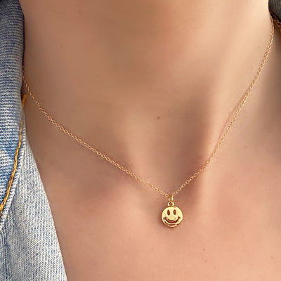 BE.SMILEY NECKLACE