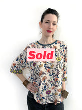 Load image into Gallery viewer, Floral Blouse SAMPLE / S