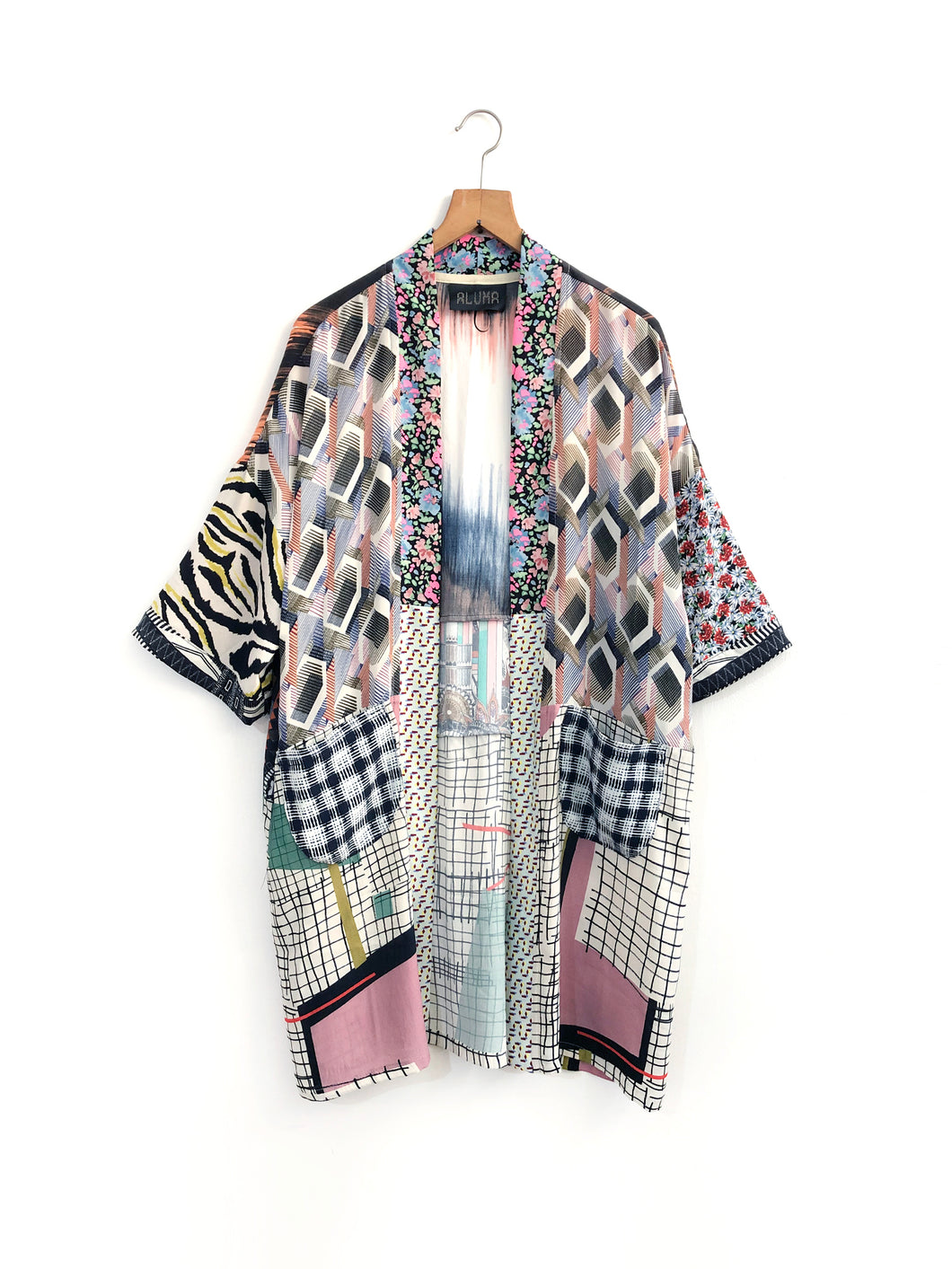 Fly Me to the Moon Kimono / M-L
