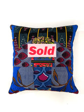Load image into Gallery viewer, Something Wild Pillow / 24x24""