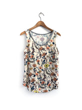 Load image into Gallery viewer, Floral Tank SAMPLE / XS