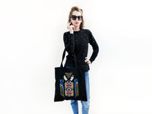 Load image into Gallery viewer, Back to Black Tote Bag