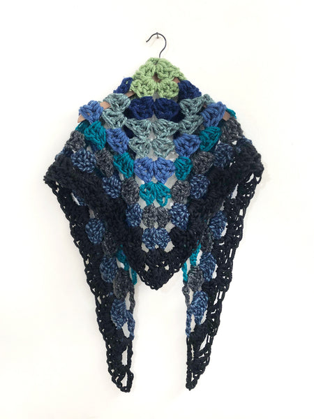 Sea of Love Crochet Scarf