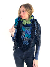 Load image into Gallery viewer, Sea of Love Crochet Scarf