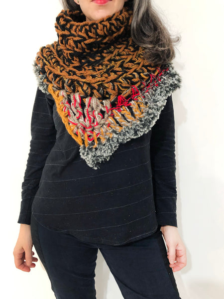 Deep Shadows Scarf