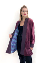Load image into Gallery viewer, Burgundy Jacket SAMPLE / S-M