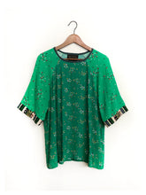 Load image into Gallery viewer, Two Green Blouse SAMPLE / M