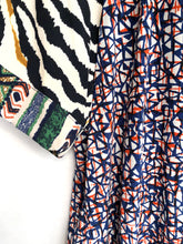 Load image into Gallery viewer, Mix Print Blouse SAMPLE / M