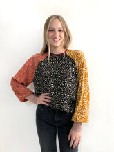 Load image into Gallery viewer, Autumn In New York Blouse / S