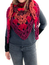 Load image into Gallery viewer, Ooh La La Crochet Scarf