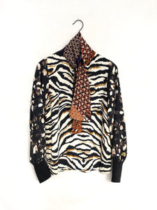 Cool Cat Blouse / XS