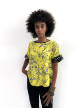 Load image into Gallery viewer, Neon Yellow Blouse SAMPLE / S