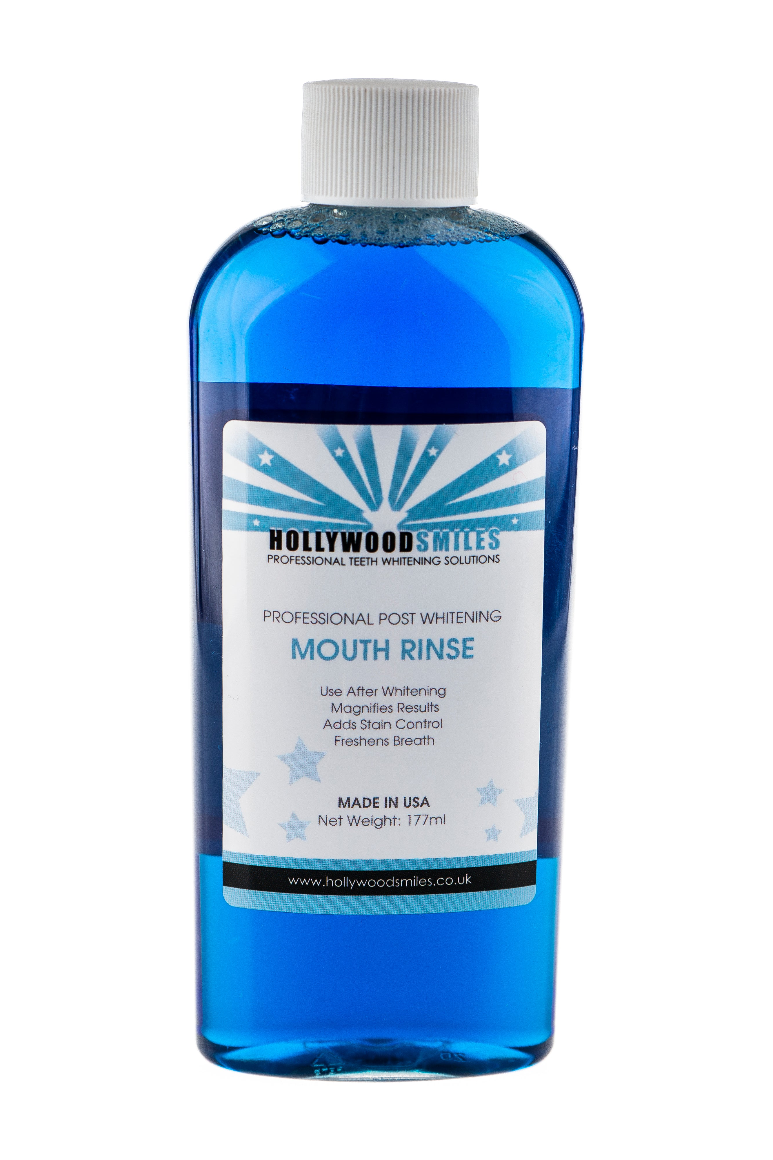 Hollywood Smiles Teeth Whitening Mouth Rinse - Hollywood Smiles Store