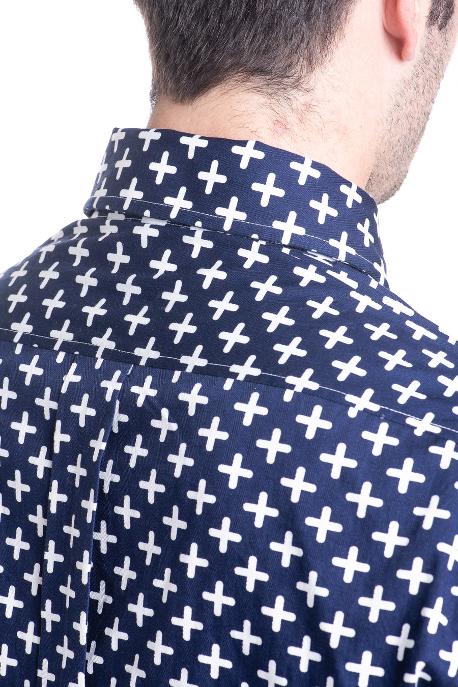 White Cross Concealed Shirt
