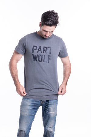 PART WOLF TEE CHARCOAL