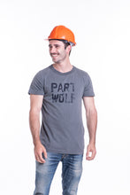 Load image into Gallery viewer, PART WOLF TEE CHARCOAL