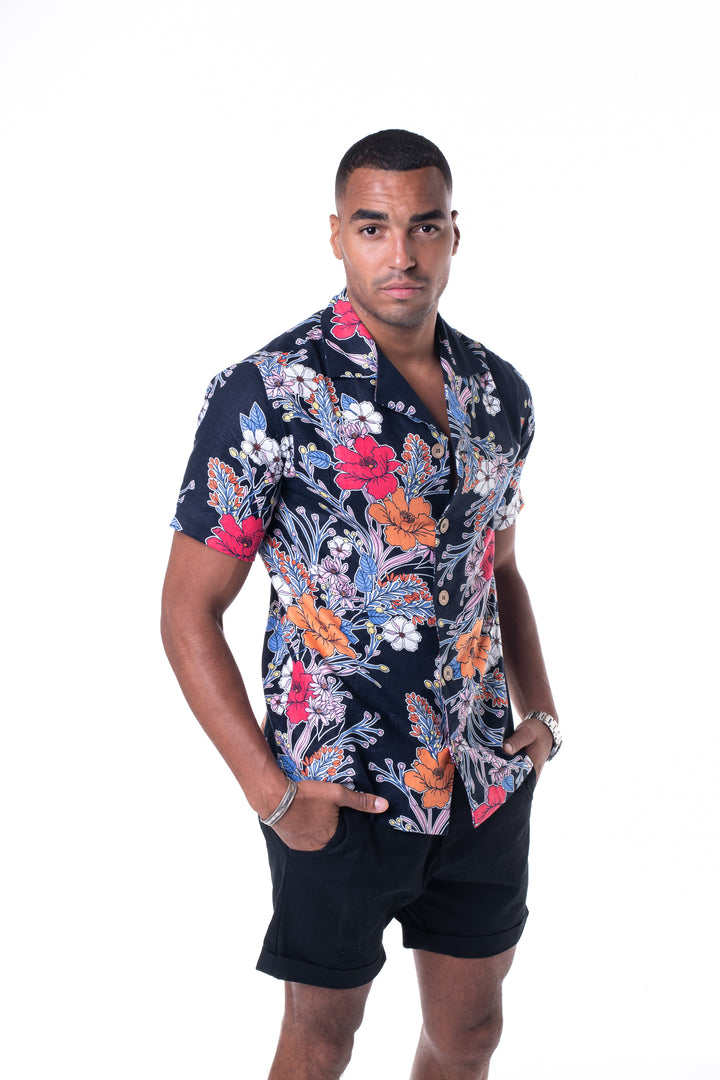 Tropical Bowling Shirt