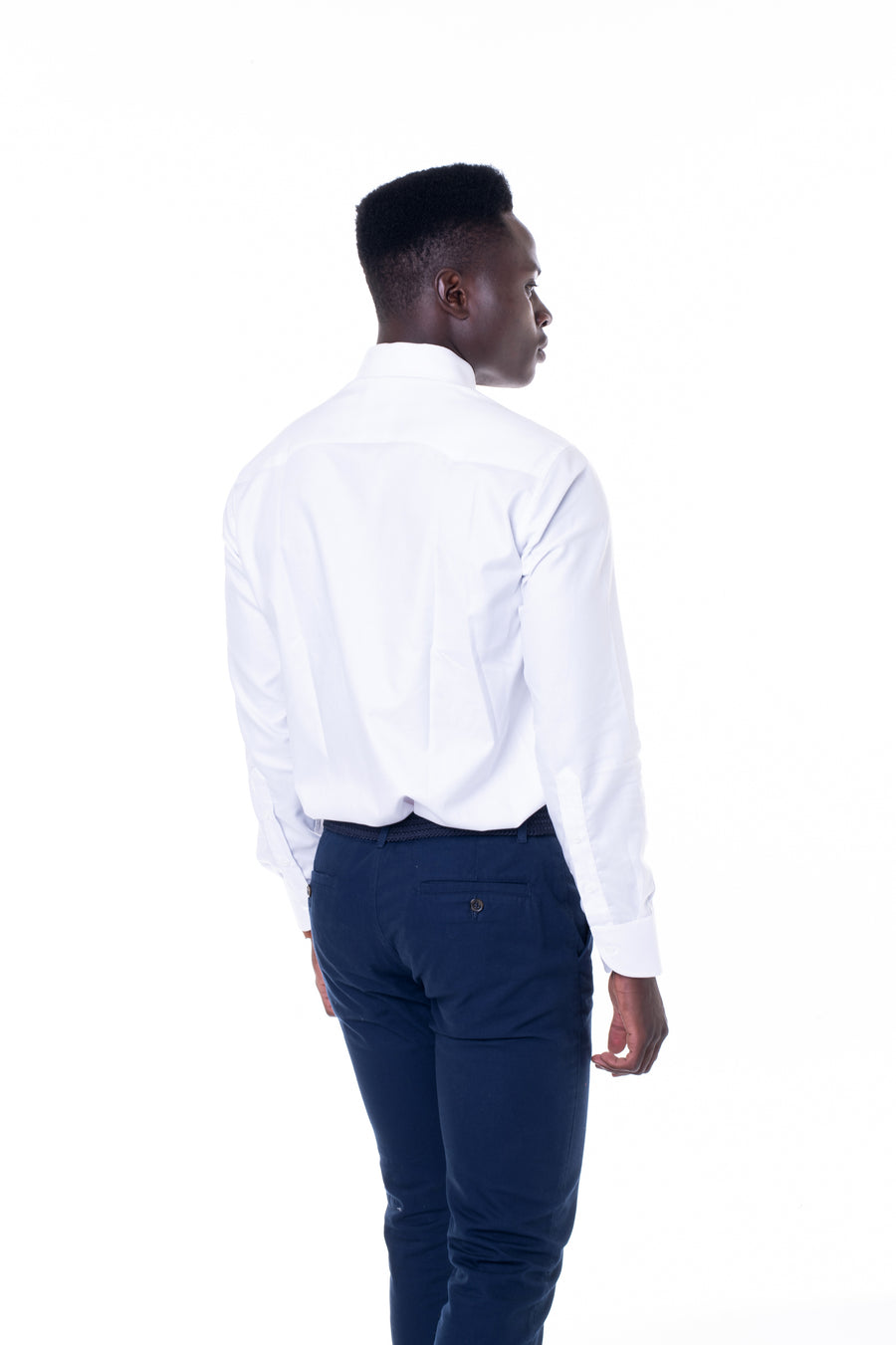 Extreme Cut Away Collar White