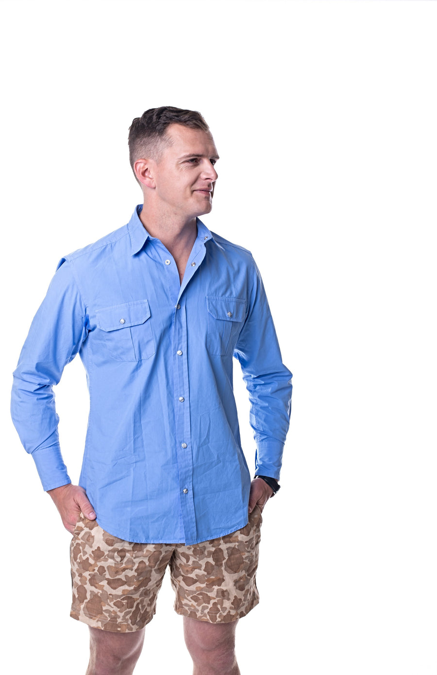 The Must Have Blue Shirt