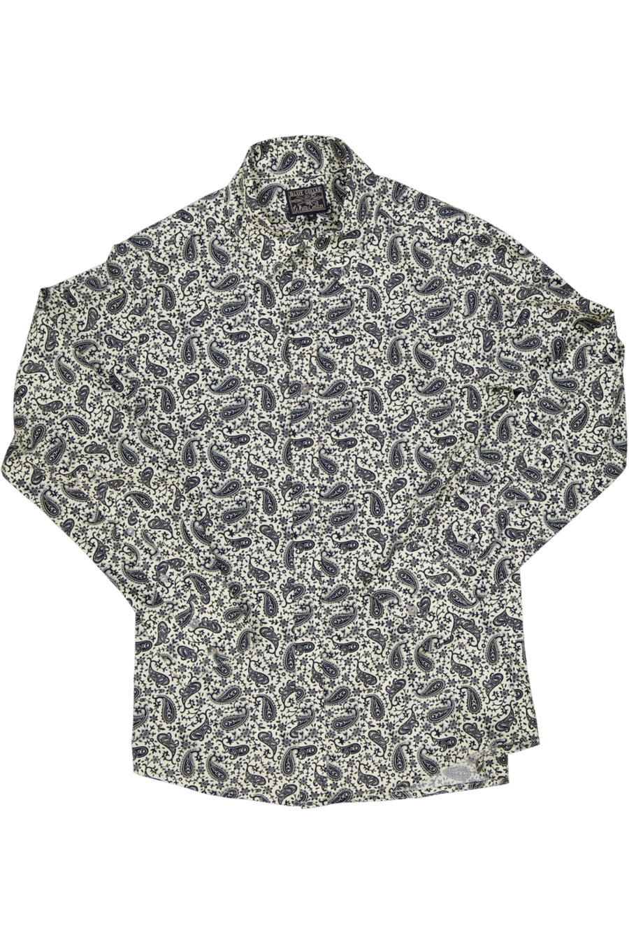 Paisley Shirt - White