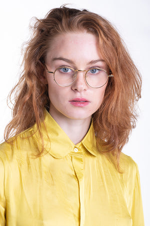 Slinky Siren Shirt in Yellow